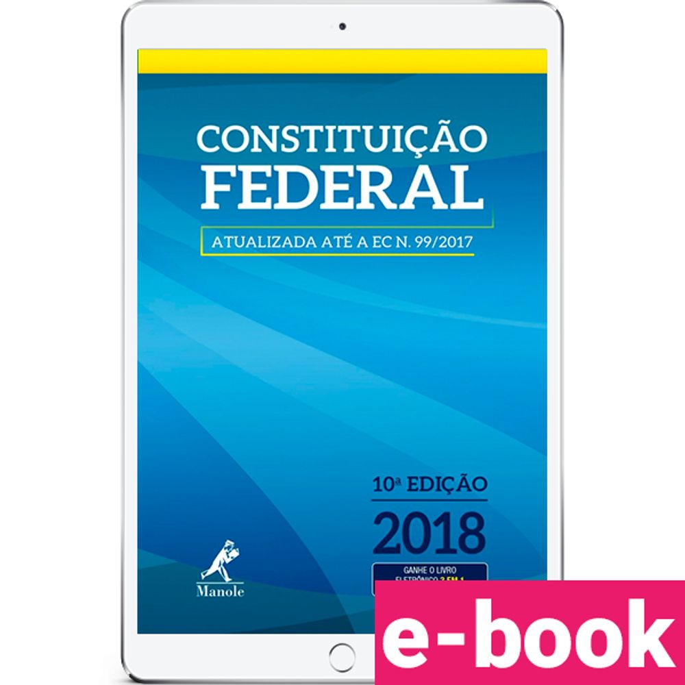 constituicao-federeal-10-edicao-2018