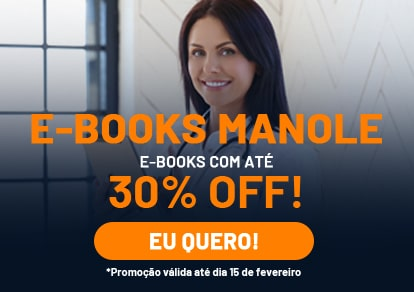 E-books é na Manole