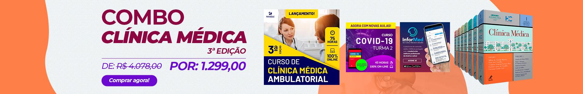Combo de Clínica Médica