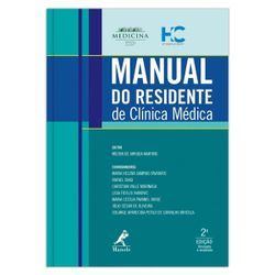 Livros para desenvolvimento profissional - Manual do Residente de Clínica Médica