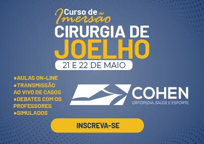 CURSO DE IMERSÃO PARA R4 – CIRURGIA DE JOELHO