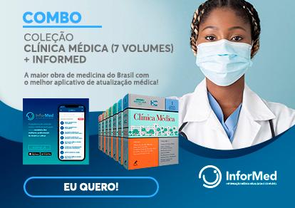 COMBO COLEÇÃO CLÍNICA MÉDICA: 7 VOLUMES + INFORMED -
