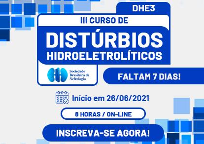 CURSO DE DISTÚRBIOS HIDROELETROLÍTICOS (DHE3)