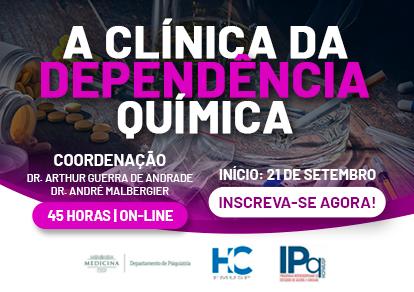 CURSO A CLÍNICA DA DEPENDÊNCIA QUÍMICA