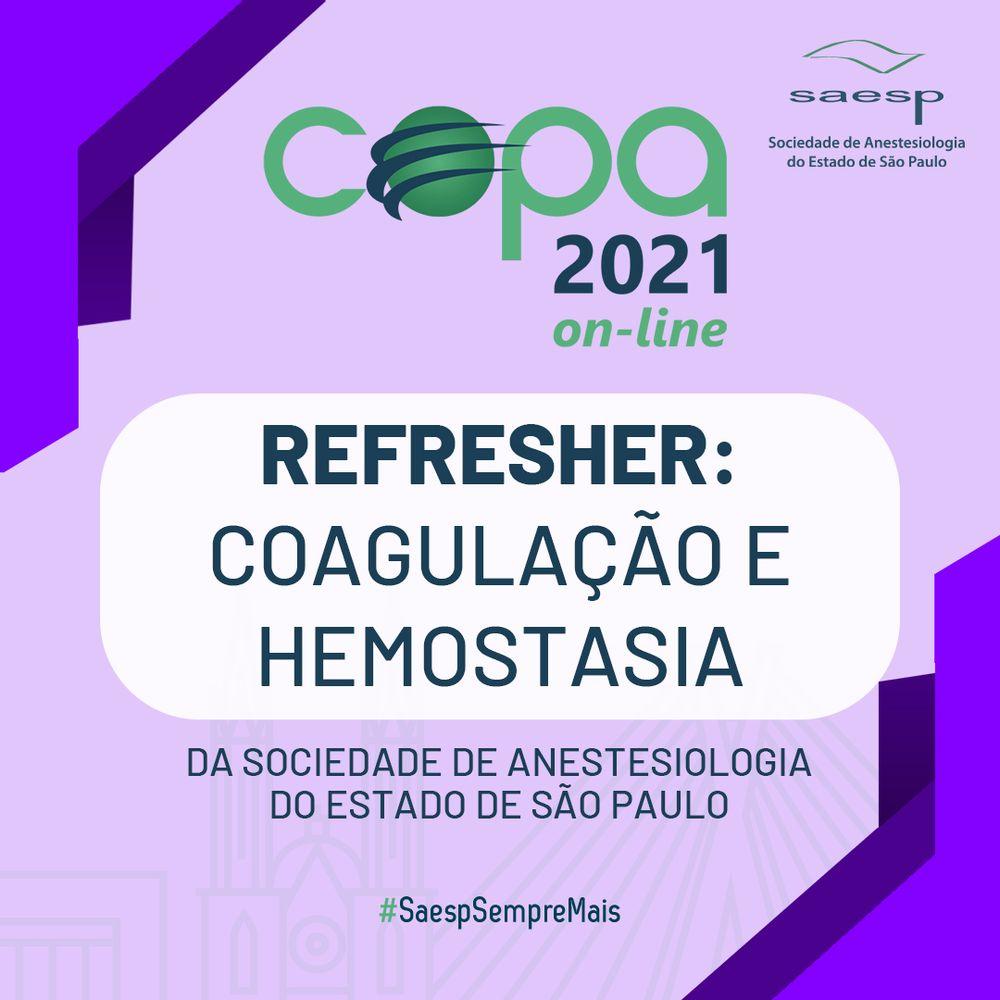 REFRESHER-COAGULACAO-E-HEMOSTASIA