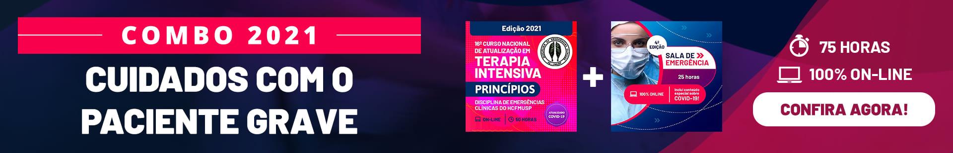 COMBO 2021 CUIDADOS COM O PACIENTE GRAVE